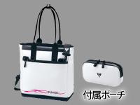タックルトートバッグ【ホワイト×マゼンタ】