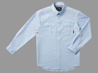 ダンガリーシャツ・L【ブルー】