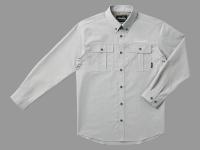 タンガリーシャツ・L【グレー】