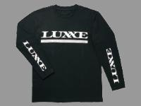 ロングスリーブTシャツ(ラグゼ)【ブラック×ホワイト】M・L・LL(ご希望のサイズをご記入ください)